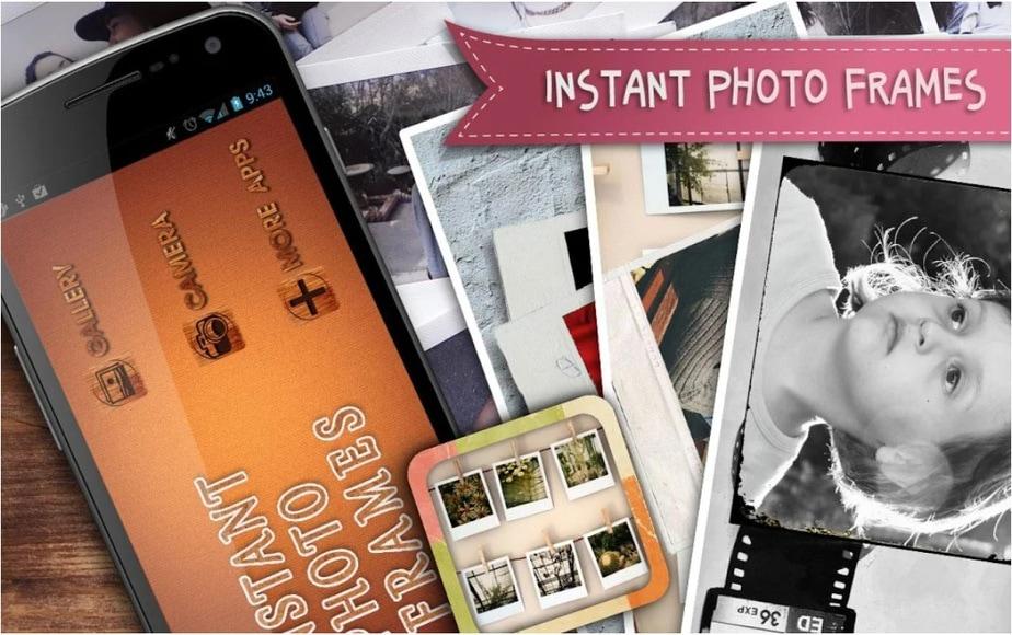 polaroid photo frame app, polaroid camera app