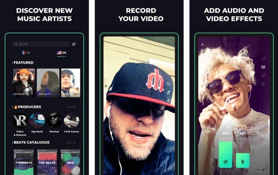 rap freestyle app, rap studio app