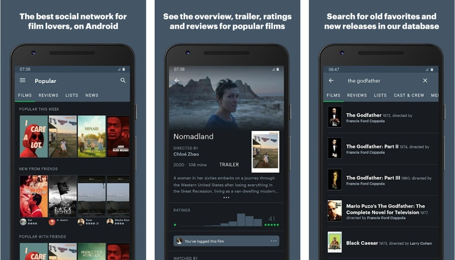 movie review app, movie rating app