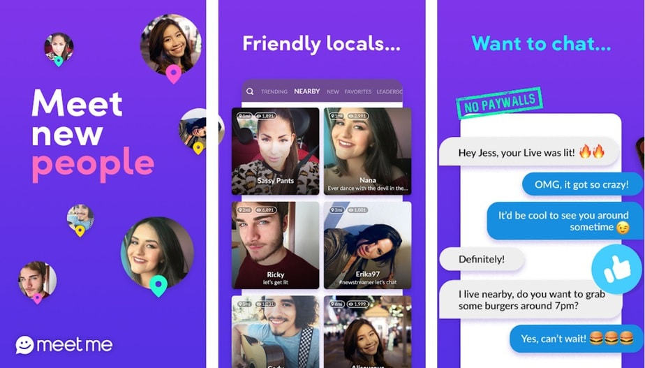 local chat app, chat with local
