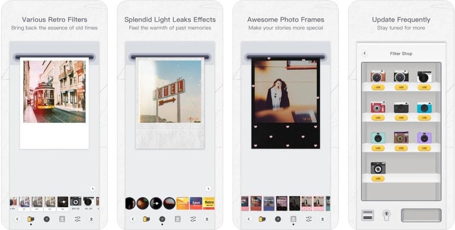 polaroid app iphone, polaroid camera app