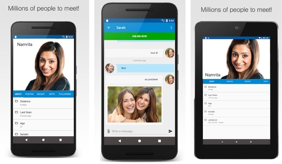 nearby chat app, local chatting