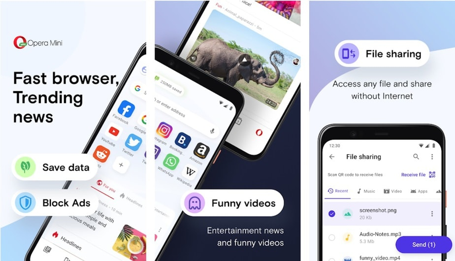 low size app for Android