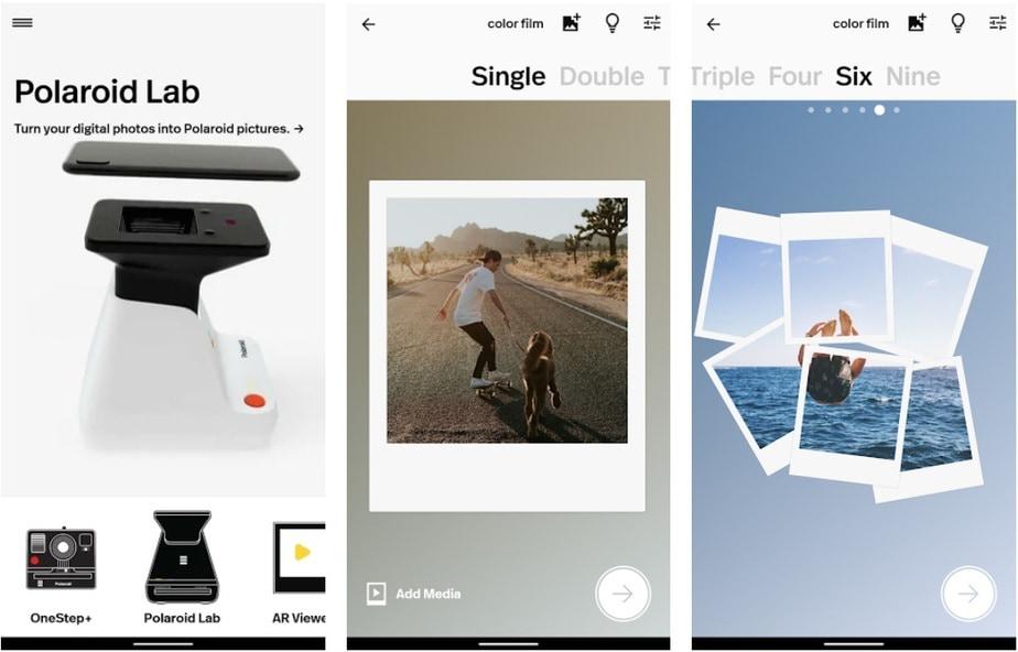 Polaroid app for Android, Polaroid maker app