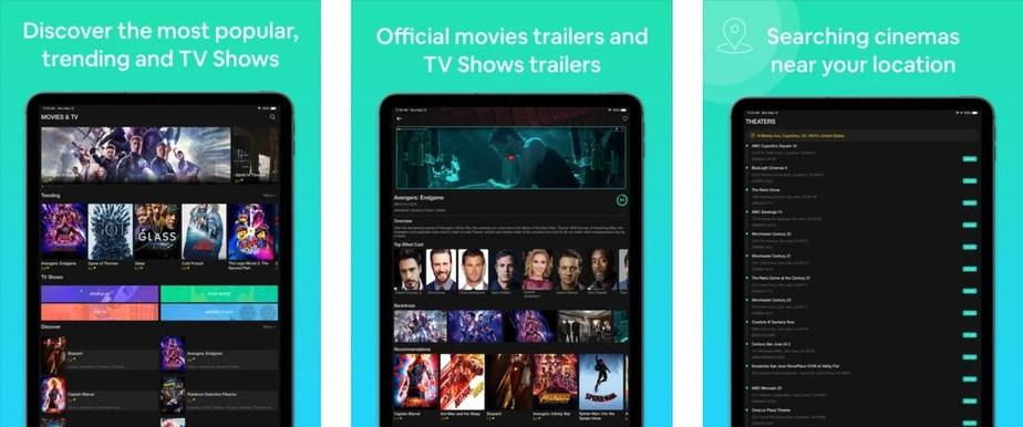 stream films on ipad, movies app for ipad