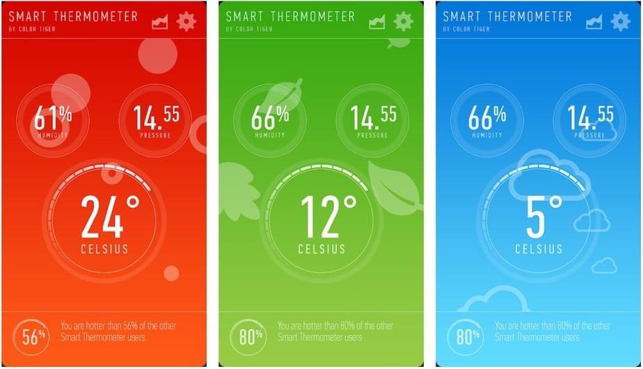 indoor temperature app android