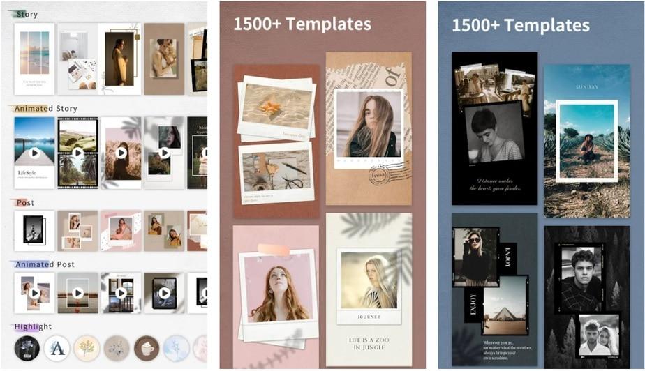polaroid template app, polaroid picture frame app