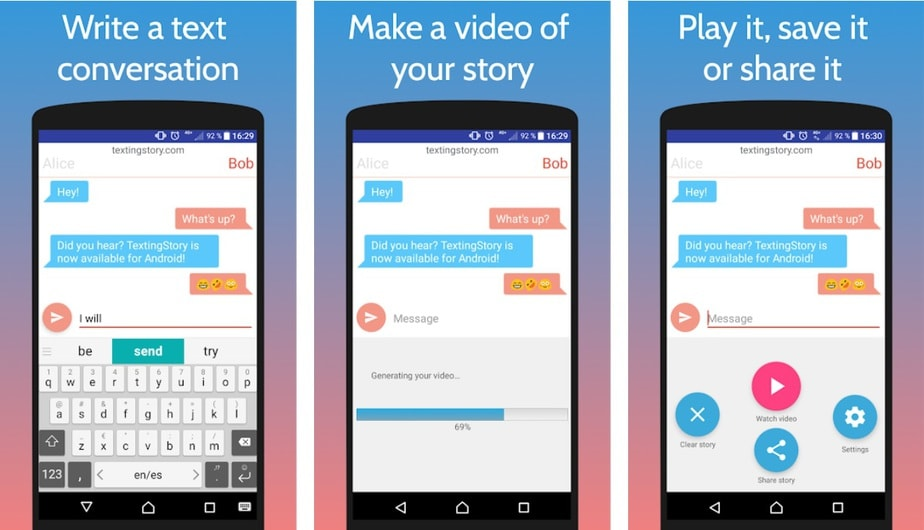 fake text message generator app, app to make fake text messages