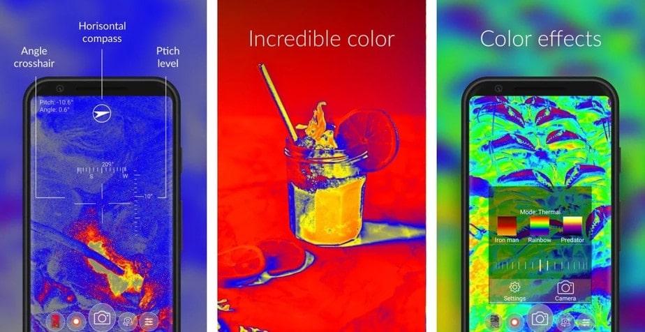 thermal vision app, thermal scanner app