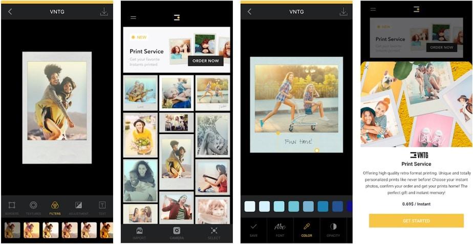 polaroid filter app, polaroid filter effect app