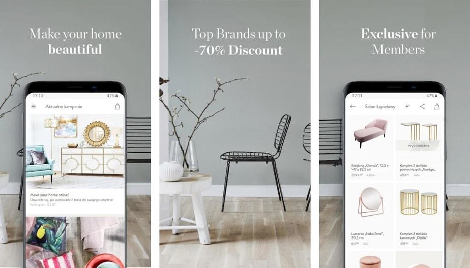 furniture shopping app, online furniture shopping app