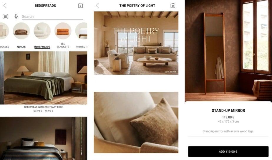 app for buying furniture, online furniture app
