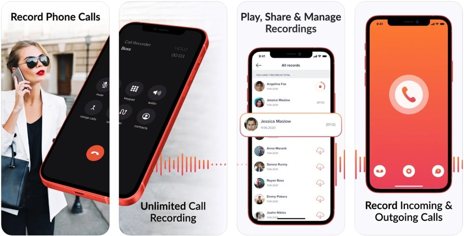 iphone call recording app, free call recorder for iphone