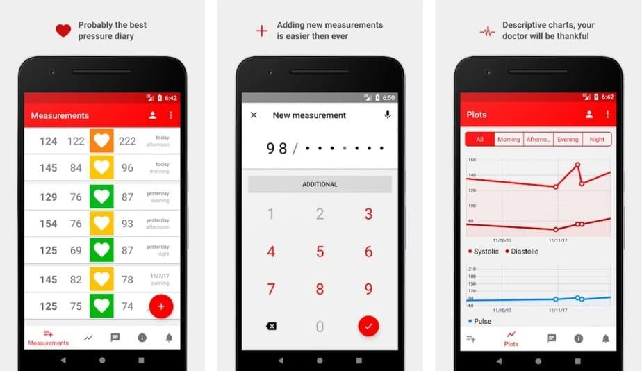 best blood pressure app android, android blood pressure app