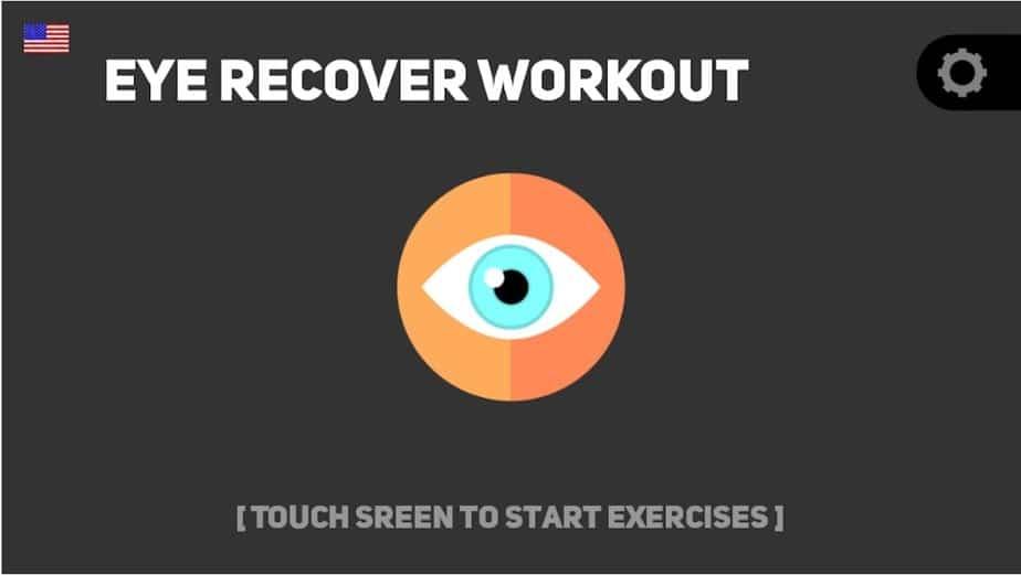 eye exercise app, eye tracking exercises app