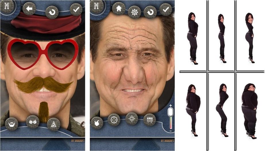 face distortion app