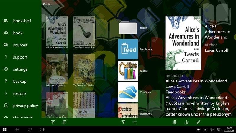 epub reader software for windows 10