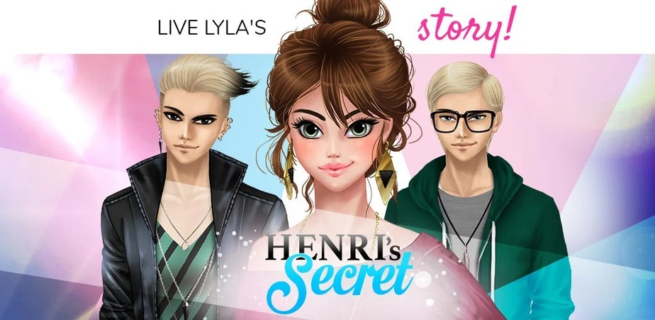 interactive anime love story game