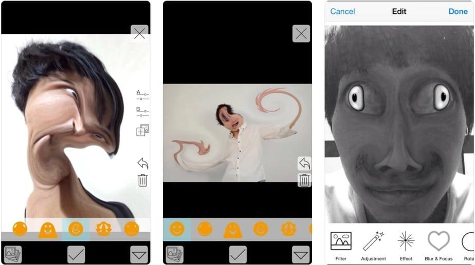 warp face app