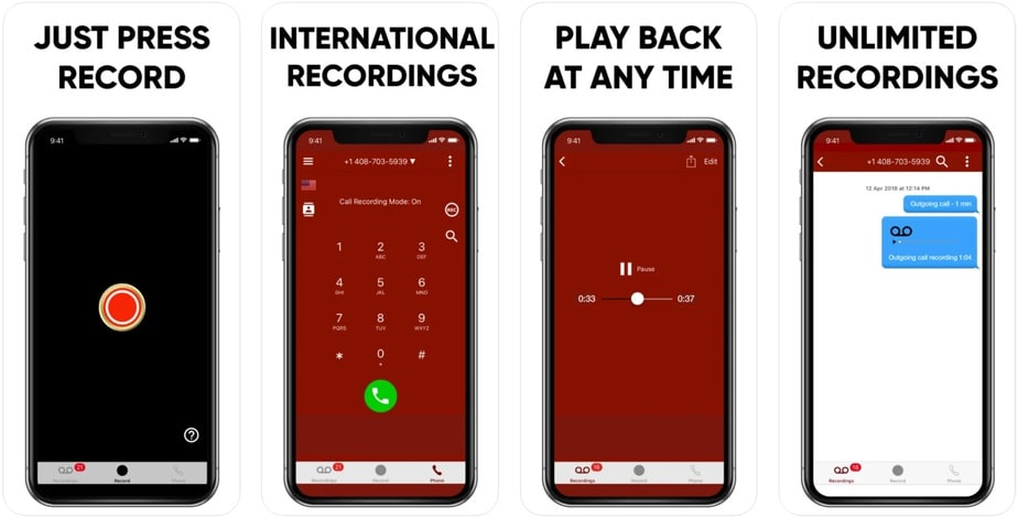 auto call recording for iphone