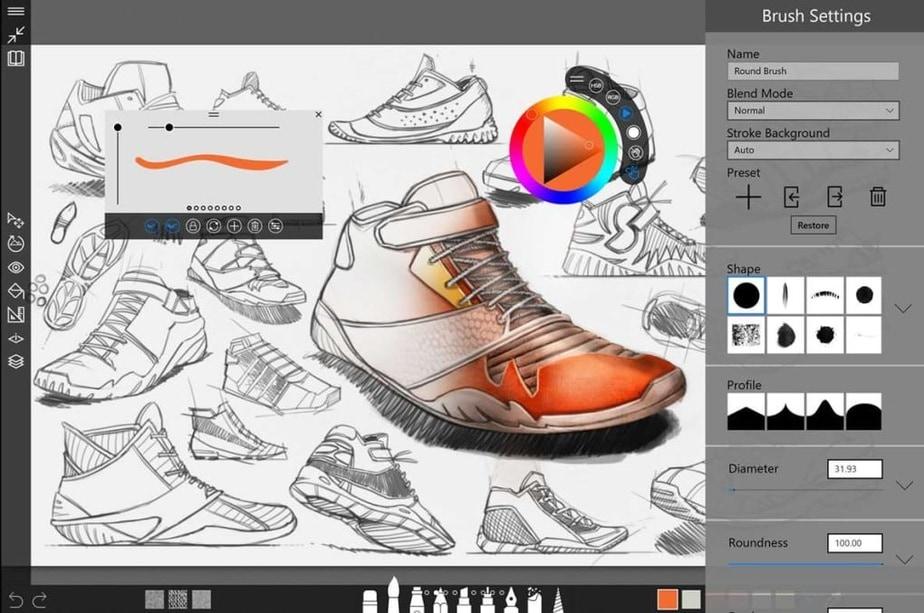 computer drawing app