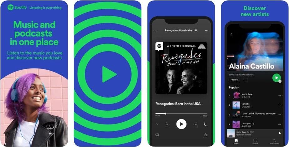 app to listen to music offline free iphone