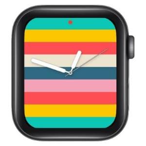 Stripes Apple Watch Face