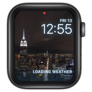 Timelapse Apple Watch Face