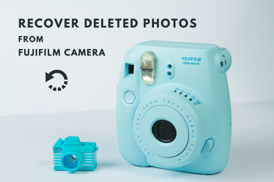 recover deleted photos from fujifilm camera