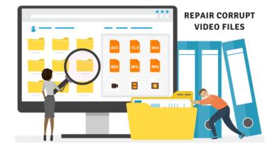 fix a corrupted video file