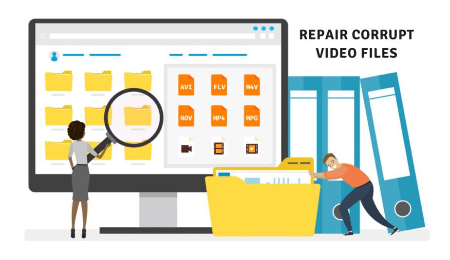 repair corrupt video files wondershare