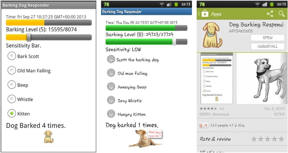 app to make dogs stop barking