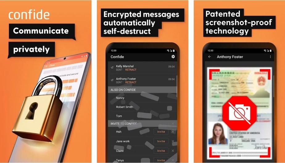 hide sms app