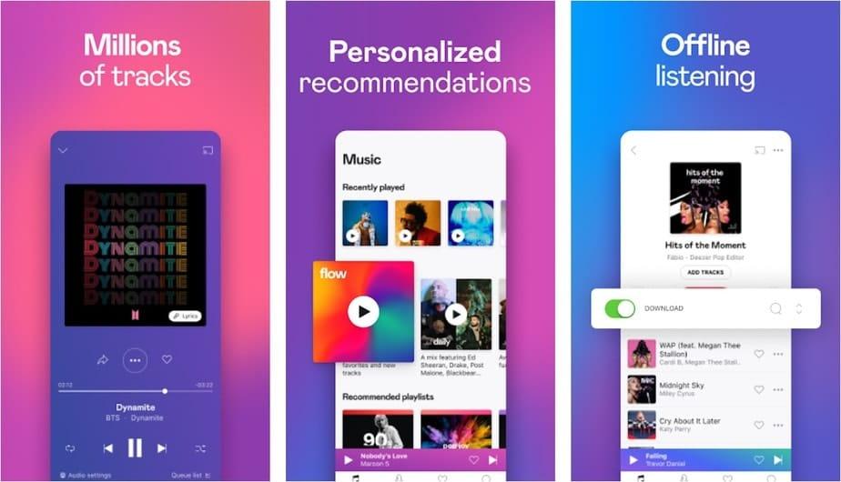 free music app no internet
