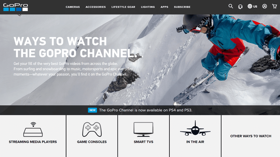 video streaming app for ps4