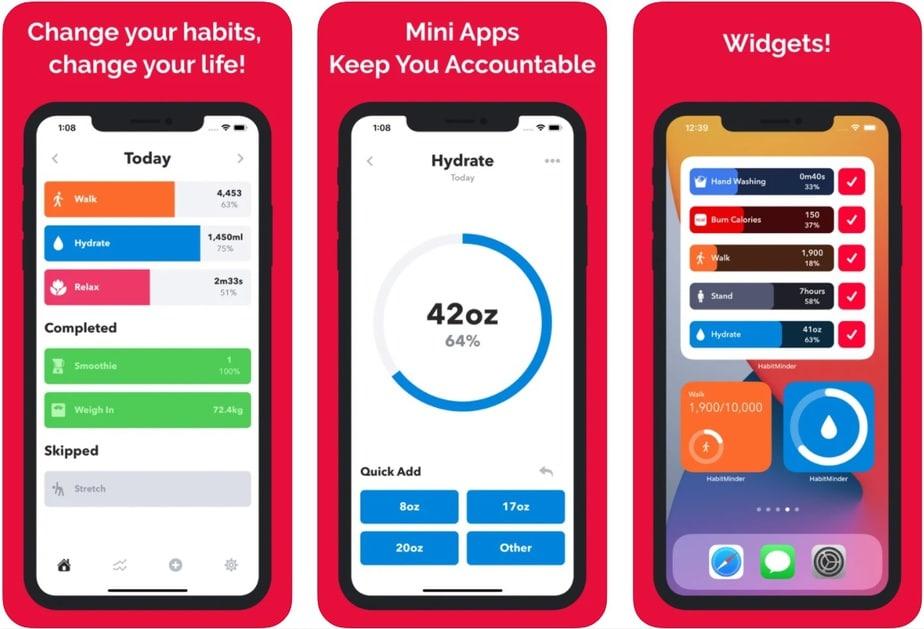 home screen widget iPhone