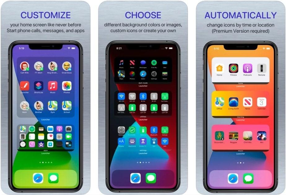 iphone widget home screen