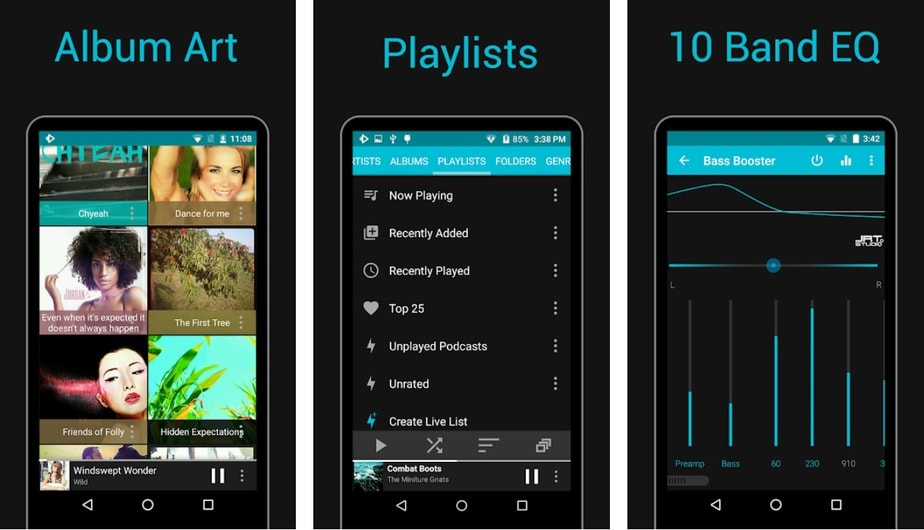 sd card music player android