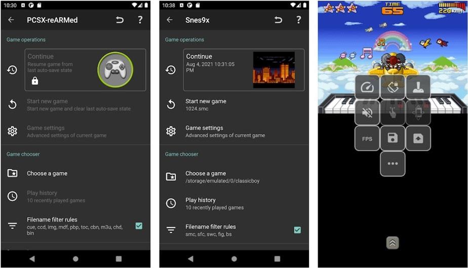 android snes emulator