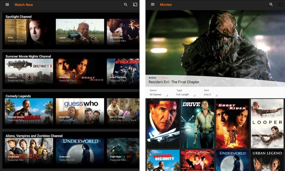 android tv box app