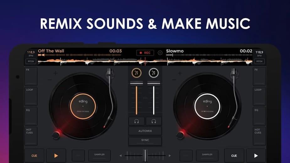 songs mixer app
