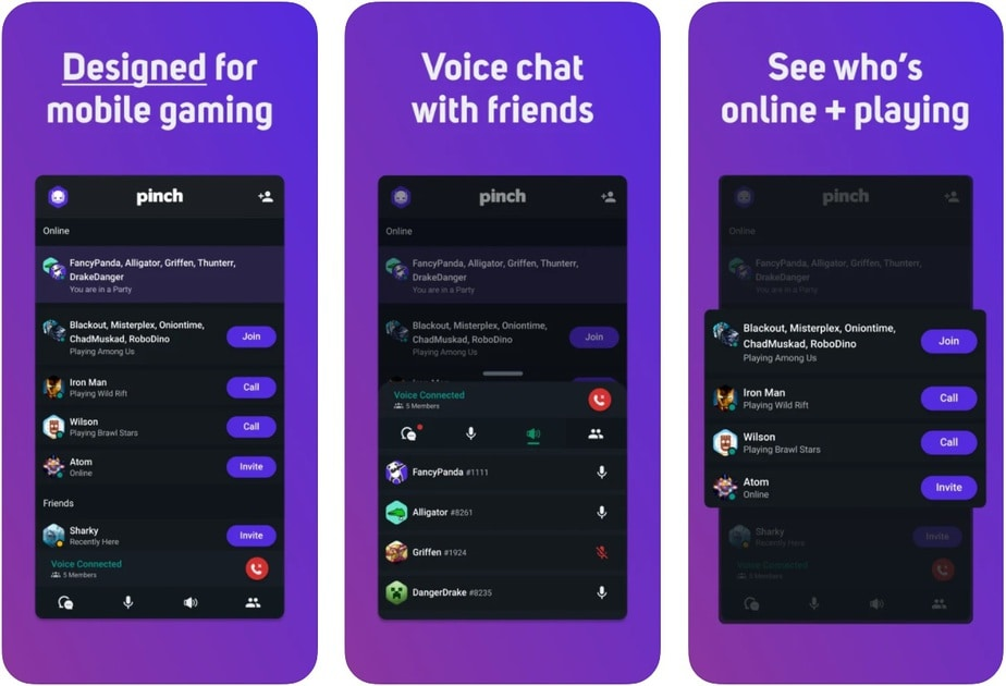 game chat app