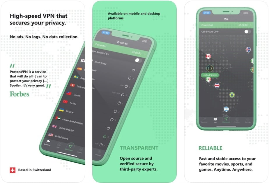 vpn for iphone free