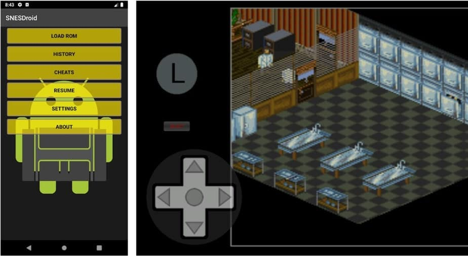 snes emu android