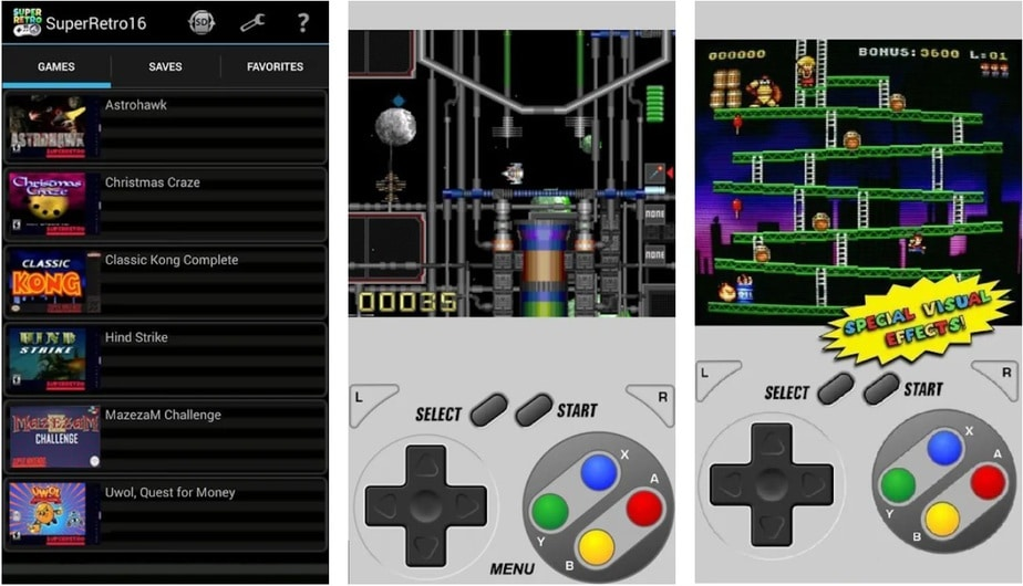 super nes android