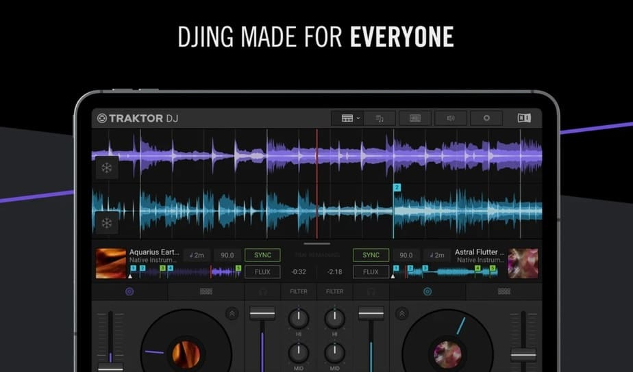 app to mix songs together free