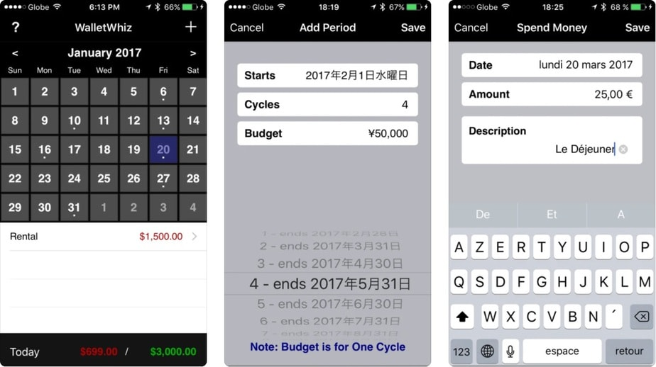 checkbook app for iphone