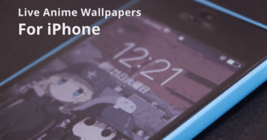 Live Anime Wallpaper Apps for iPhone